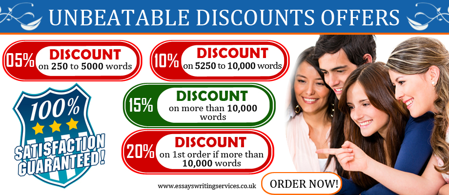 Essay Writing Services - Discounts